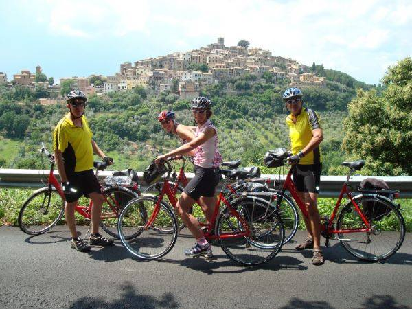 Cycling Holidays - Florence to Rome